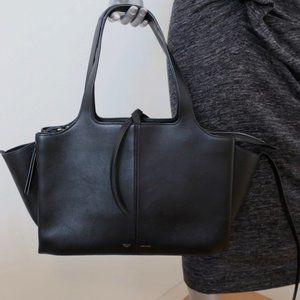 Celine Medium Tri-Fold Bag Leather Shoulder Bag